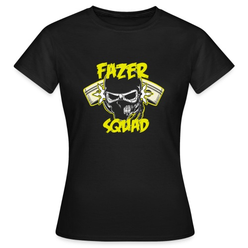 fazersquad gif - T-shirt Femme