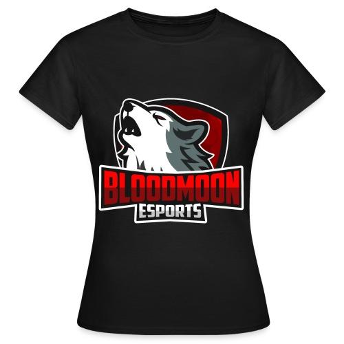 BloodMoon eSport Logo - Frauen T-Shirt