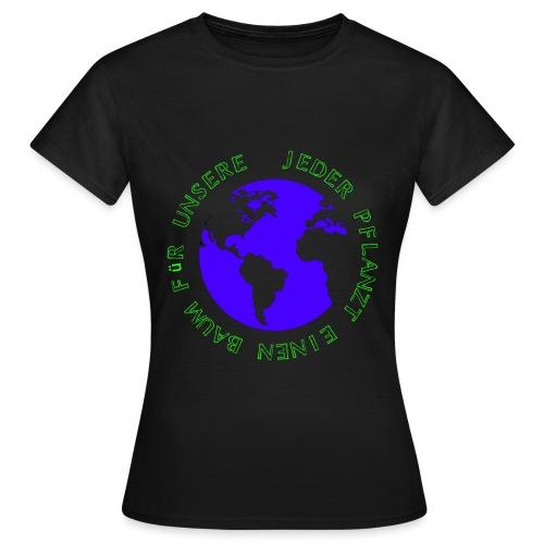Gruene Welt - Frauen T-Shirt