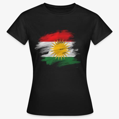 Kurdische Flag. - Frauen T-Shirt