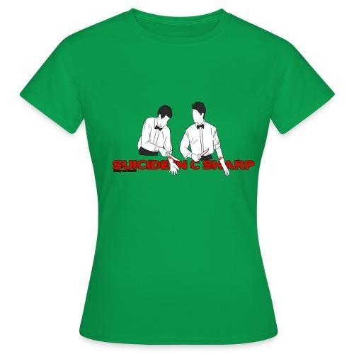 suicide in c sharp png - Women's T-Shirt