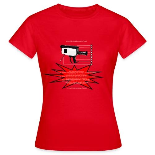 cámaras vintage DXC 1600 - Camiseta mujer