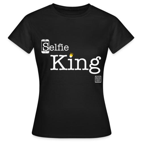 SelfieKingFinal png - Women's T-Shirt