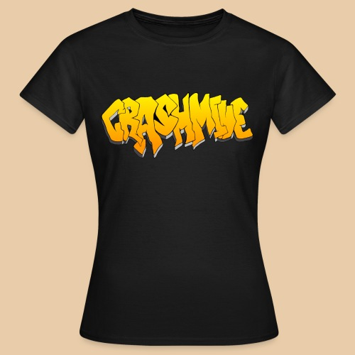 CrashMine net Gold - Frauen T-Shirt