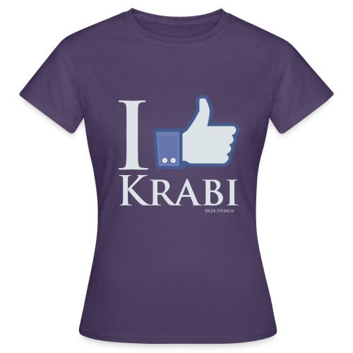 Like Krabi White - Frauen T-Shirt