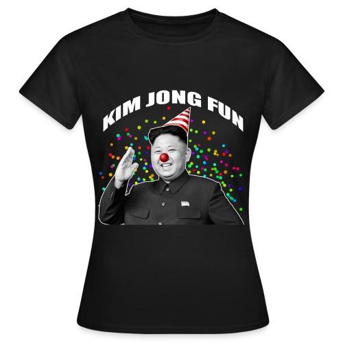 Kim Jong Fun noir png - T-shirt Femme