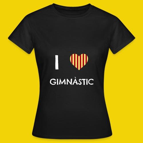 I Love Gimnastic - Women's T-Shirt