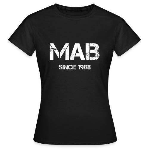 Logo mab hires transparent png - Maglietta da donna