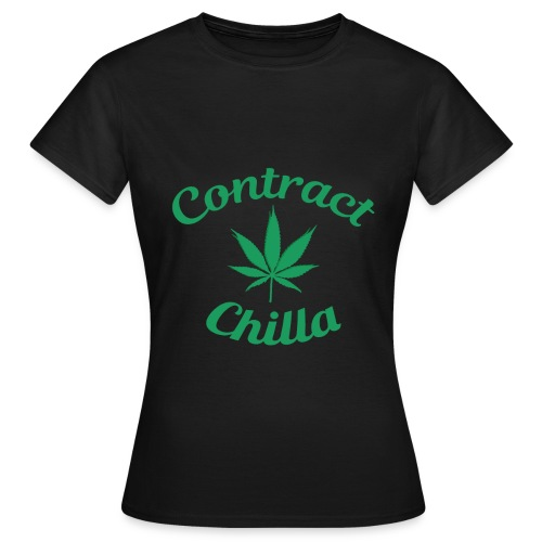 Contract Chilla Leaf - Women's T-Shirt