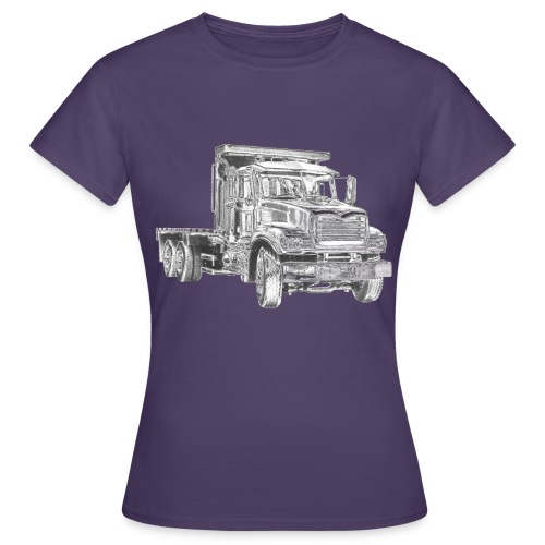 Flatbed Truck 3-axle - Women's T-Shirt
