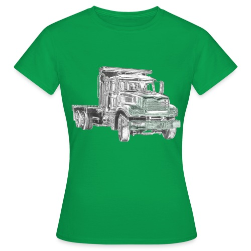 Flatbed Truck 3-axle - Women's T-Shirt