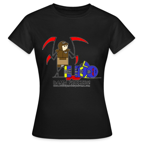 damn proxies - Women's T-Shirt