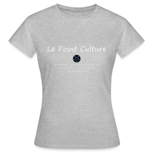 11 Metal gif - T-shirt Femme