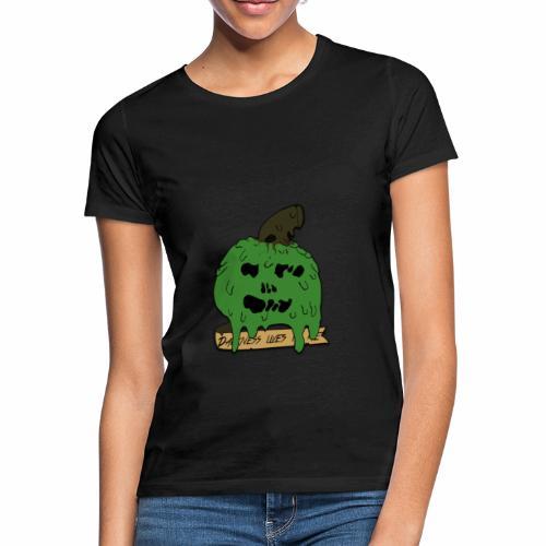 Pomme dégoulinante - T-shirt Femme