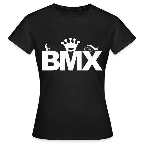 bmx shirt 2 - Koszulka damska