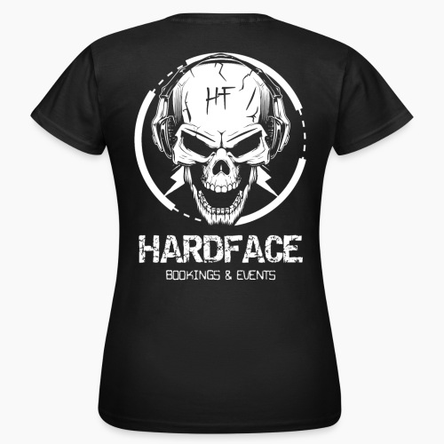 HardFace - Bookings & Events - Women's T-Shirt
