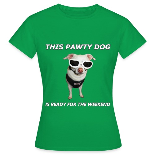 Pawty Dog - Women's T-Shirt