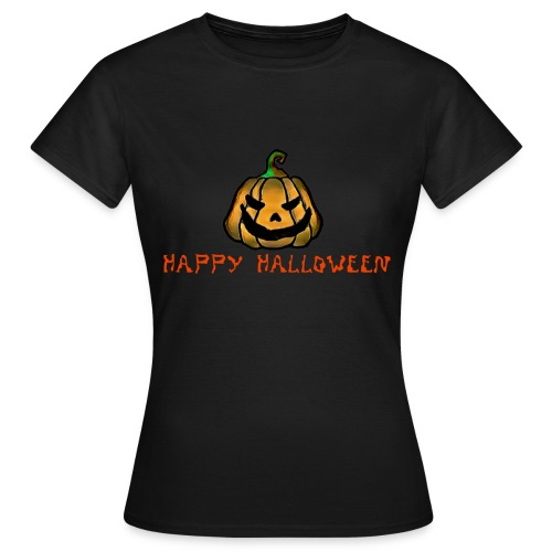 Happy Halloween Pumpkin - Women's T-Shirt