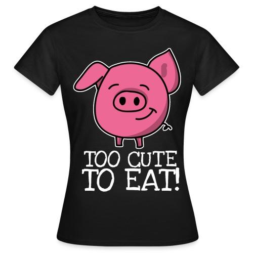 pig 2 png - Frauen T-Shirt