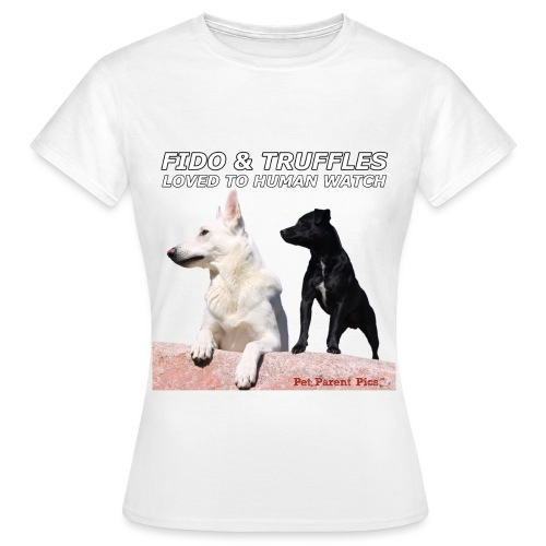 Fido and Truffles - Women's T-Shirt
