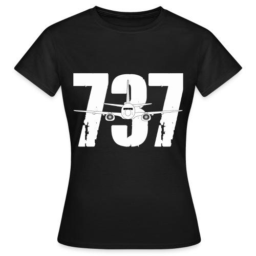 B737 new png - Women's T-Shirt