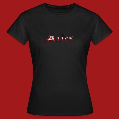 AliceBannerFinal1ShirtDruck png - Frauen T-Shirt