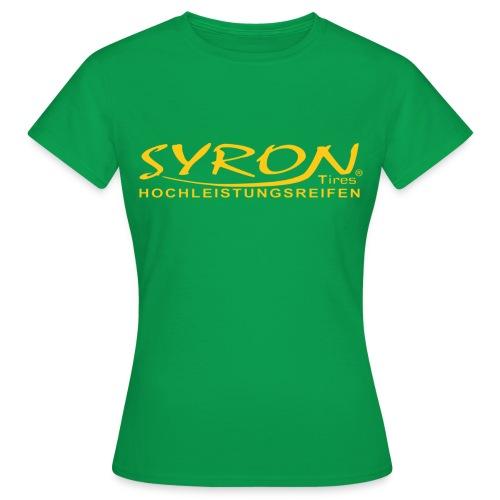 Syron Hochleistungsreifen PX - Frauen T-Shirt