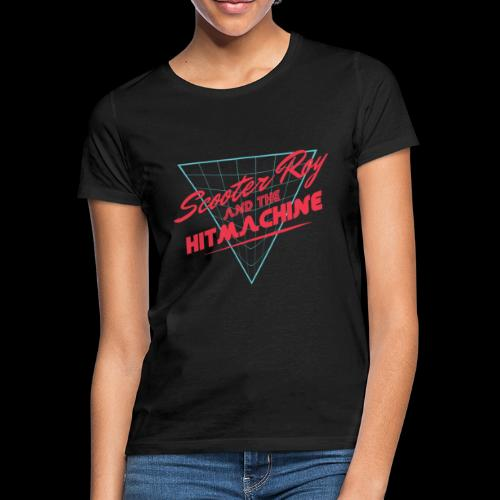 ScooterRoy and the Hitmachine - Vrouwen T-shirt