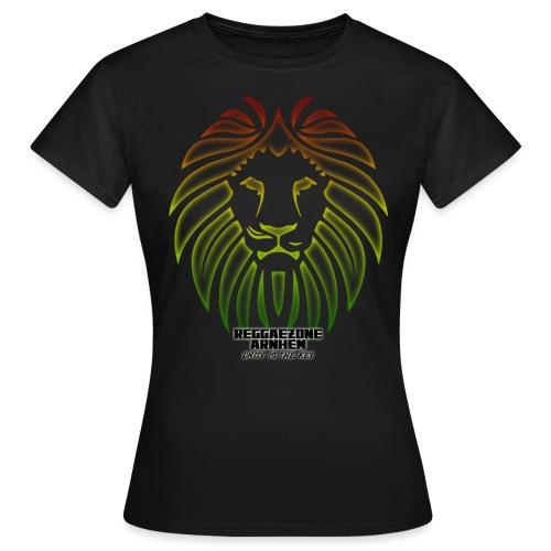 reggaezone lion TSHIRTONTWERP1 png - Vrouwen T-shirt