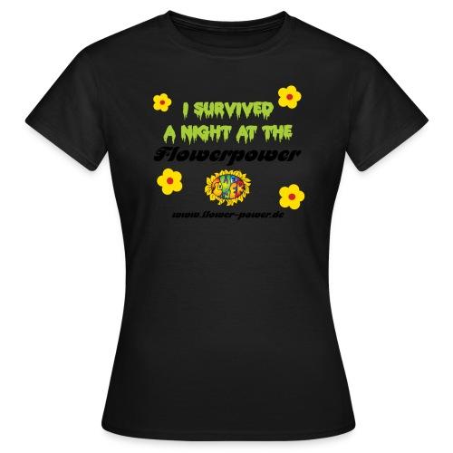 suvived schwarz - Frauen T-Shirt