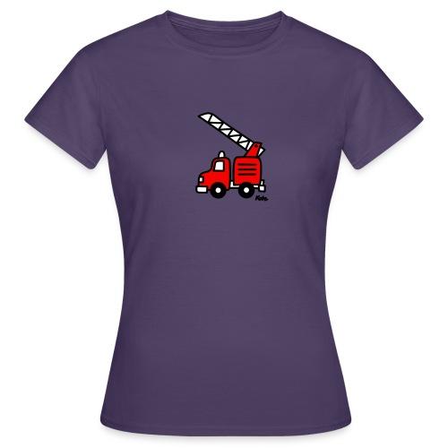 Feuerwehrauto (c) - Frauen T-Shirt