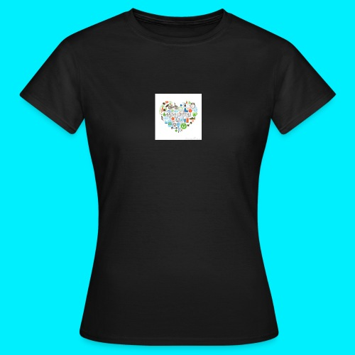Heart image - Women's T-Shirt