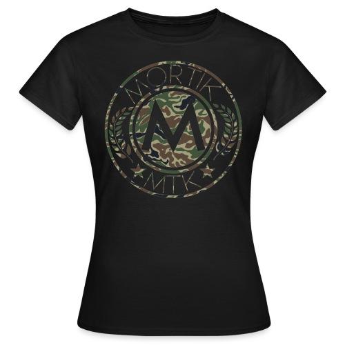 logo MORTIK Roma Camo édition png - T-shirt Femme