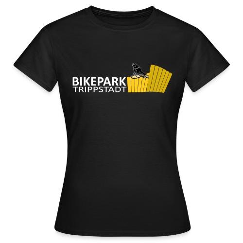 Classic weiß gelb - Frauen T-Shirt