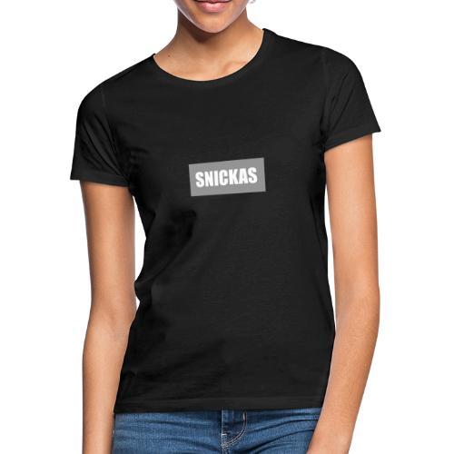 Snickas Logo - Women's T-Shirt