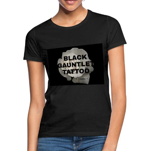 Black Gauntlet - White Rose - Women's T-Shirt