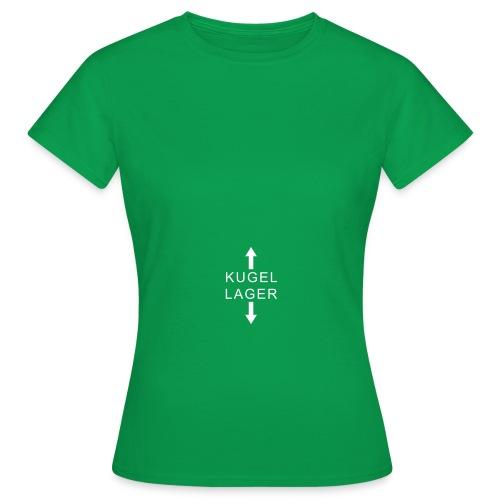 koerper kugellager - Frauen T-Shirt