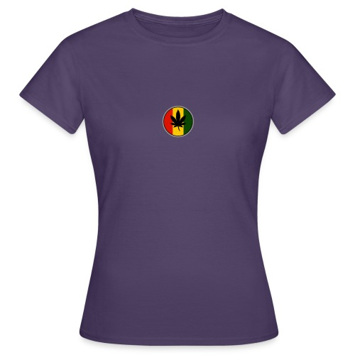 weed logo - Dame-T-shirt