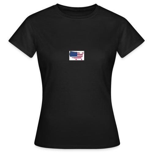 porte clé américain - T-shirt Femme