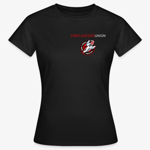 Decal and text - Women's T-Shirt