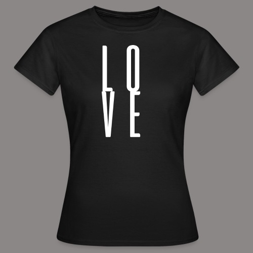 LOVEwhite - Frauen T-Shirt
