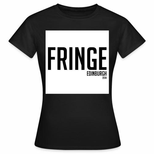 Fringe 2018 Black on White - Women's T-Shirt