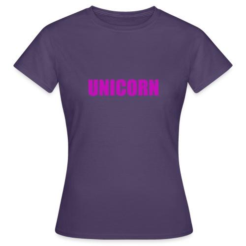 Unicorn - Frauen T-Shirt