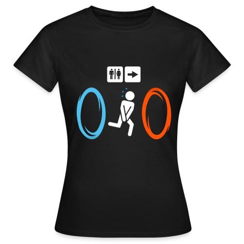 portal - Frauen T-Shirt