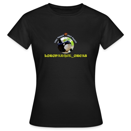 LoroParque_Orcas Logo - Vrouwen T-shirt