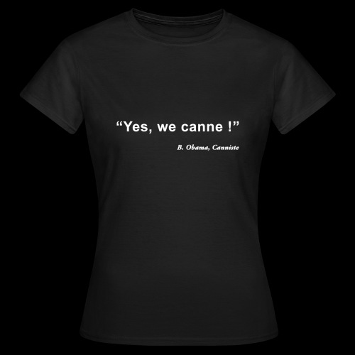 yeswecanne - T-shirt Femme