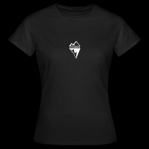 Eyesberg Tshirt Noir - T-shirt Femme