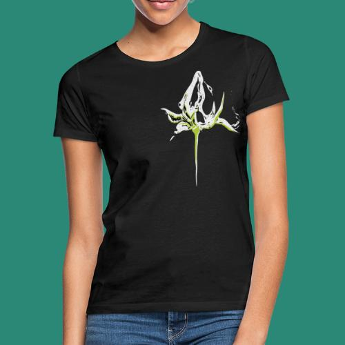 weisse Rosenknospe - Frauen T-Shirt