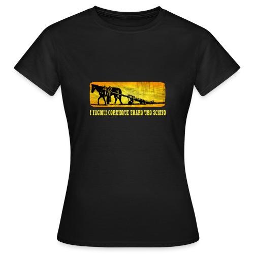 I fagioli comunque Trinità - Maglietta da donna