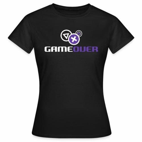 Gameover.fi - Naisten t-paita